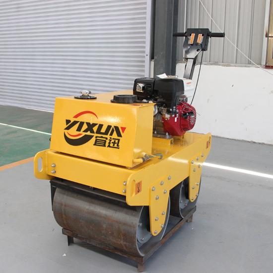 YX-600Q手扶式双钢轮压路机+汽油款