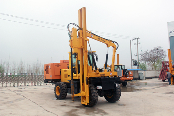 YX-950(10m³)道路-打拔钻打桩机