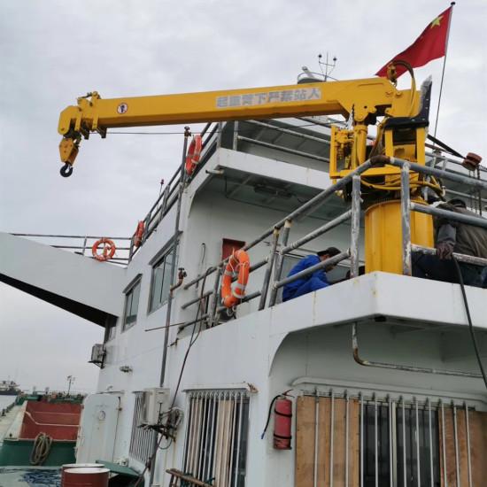 YX-1200船吊 船用起重机