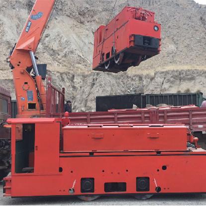 YX-8矿用电机车